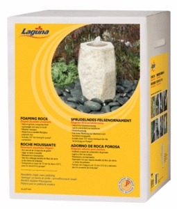 Hagen Laguna Foaming Rock Ornament
