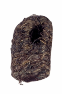 "(B1981) Living World Grass Finch Nest, Medium, 4"" x 4"""