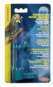 (B1610) Living World Combo Waterer and Feeder, Small