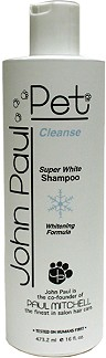John Paul Pet Super White Shampoo 16 oz. Bottle