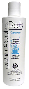John Paul Pet Tearless Puppy Shampoo 16 oz. Bottle