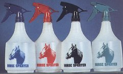 <B><U>3 Spray Bottles 36oz Polyethelene PRIMARY Colors{3 for 6.49!!}</B></U>