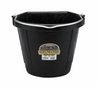 DuraFlex Rubber 20 Qt. Flat Back Bucket