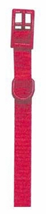 "Standard Nylon Dog Collar 3/8"" - Adjustable up to 12"" by Four Paws"