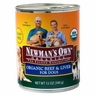Newman's Own Organics Beef / Liver Dog 12 / 12 oz Can