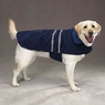 Dog Smart Navy Jacket Ecru Piping 16 inch