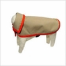 Dog Smart Khaki Jacket Ecru Piping 16 inch