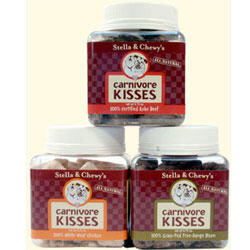 Stella & Chewy's Carnivore Kisses Freeze Dried Treats, Bison (2.75 ounce, 12 count)