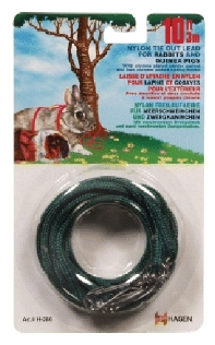 Rabbit/Guinea Pig Tie Out Lead, Green