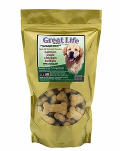Great Life Sea, Air, Land Combo Biscuits for Dogs 1 lb
