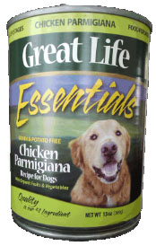 Great Life Chicken Parmigiana Canned Dog Food 12 / 13 oz