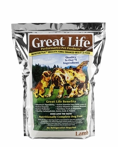 Great Life New Zealand Lamb Dog Food 8 Lbs
