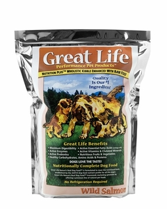 Great Life Wild Salmon Dog Food 33 Lbs