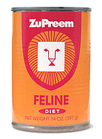 Zupreem Feline Diet 14oz Can (each)