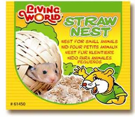 (H167) Living World Hide-A-Way Hamster Nest