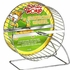 "(H95) Living World Chrome Plated Hamster Wheel, 7"" dia."
