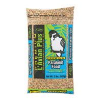 L'Avian Plus Parakeet Food 2 Lb Bag
