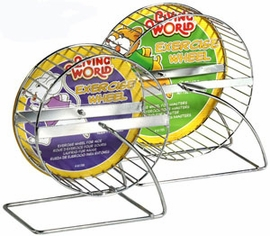 Living World Chrome Plated Guinea Pig Wheel