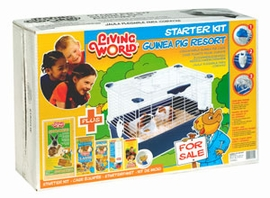 (61822) Living World Guinea Pig Starter Kit