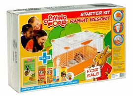 (61827) Living World Rabbit Starter Kit