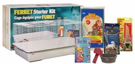 Living World Ex. Large Ferret Starter Kit