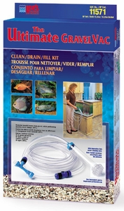 Lee's Ultimate Gravel Vacuum 50' Clean Drain and Fill Kit