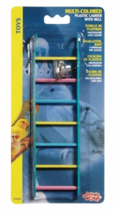(B1632) Living World Multi Color Ladder w/ Bell