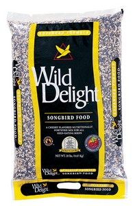 Wild Delight Safflower Seeds 20 Lb Bag
