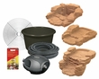Hagen Laguna Pondless Waterfall System Kit - Red Sandstone