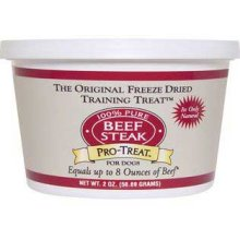 Gimborn Treat Freeze Dried Beef Steak 2 oz