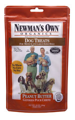 Newmans Own Organics Peanut Butter Dog Treats for Small Dogs 10 oz bag