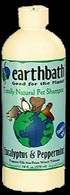 Earthbath Eucalyptus & Peppermint Shampoo 16oz Bottle