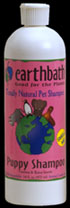Earthbath Puppy Shampoo 16oz Bottle