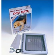 Ani Mate Door Dog W/Liner Large White