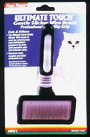 Ultimate Touch Gentle Slicker Wire Brush- For CATS by Four Paws