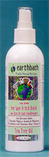 Earthbath Between Bath Hot Spot Itch Relief Tee Tree Oil Spritz 8oz