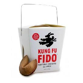 Sojos Kung-Fu Fido Fortune Cookies For Dogs 3 oz
