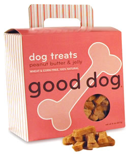 Sojos Good Dog Peanut Butter & Jelly Treats 8 oz