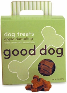 Sojos Good Dog Apple Dumpling Treats 8 oz