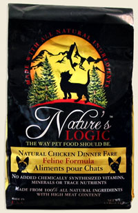 Nature's Logic Chicken Feline Dry Kibble 3.3 lb