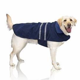 Dog Smart Navy Quilted Jacket 16 inch