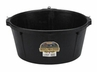 DuraFlex Rubber 6 1/2 Gallon Tub with Hooks