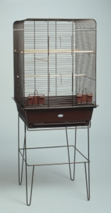 """Casino"" Flight/Storage Cage, f/ Cockatiels, Lovebirds, Finches, Large"