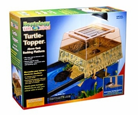 Penn Plax  Reptology Turtle Topper Ramp / Dock - Above Tank Basking Platform