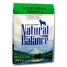 Natural Balance Vegetarian Formula for Dogs 15 lbs bag