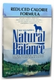Natural Balance Reduced Calorie Formula Dog Food 15 lb Bag