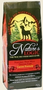 Nature's Logic Beef Dry Canine Kibble 26.4 lb