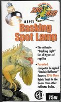 Repti Basking Spot Lamp 75 W by Zoo Med