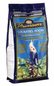 Living World Premium Cockatiel Mix, 2 lbs., standup zipper bag