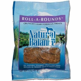 Natural Balance Roll-A-Rounds 8 Ounce Bag